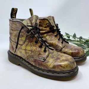 Doc Martens Vintage Tye Dye Made in England Boot 7